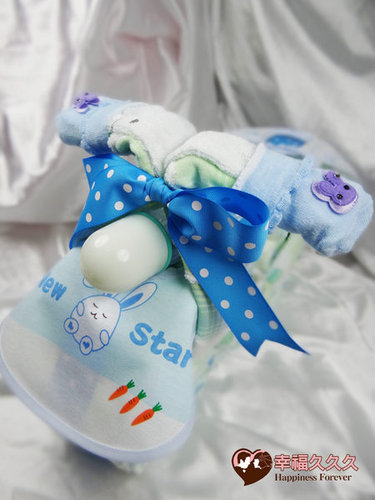 幸福久久久婚禮小物--婚禮小物之寶寶機車尿布蛋糕03