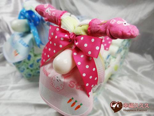 幸福久久久婚禮小物--婚禮小物之寶寶機車尿布蛋糕01