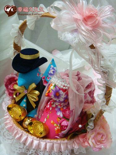 幸福久久久婚禮小物--婚禮小物之各式手工帶路雞02