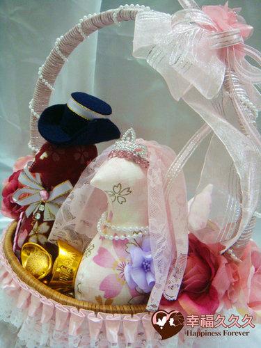 幸福久久久婚禮小物--婚禮小物之各式手工帶路雞04