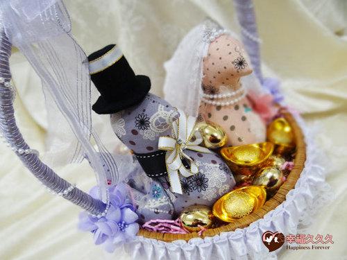 幸福久久久婚禮小物--婚禮小物之各式手工帶路雞01