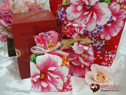 幸福久久久婚禮小物--婚禮小物之手工車縫手提袋05