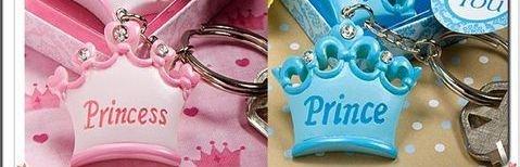 幸福久久久婚禮小物--晶鑽皇冠鑰匙圈婚禮小物01