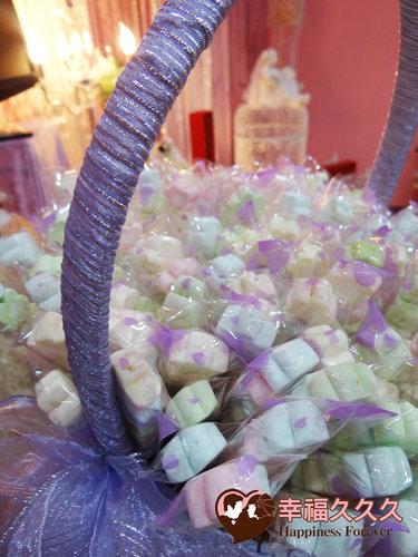 幸福久久久婚禮小物--婚禮小物之手工棉花糖02