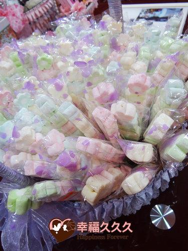 幸福久久久婚禮小物--婚禮小物之手工棉花糖03