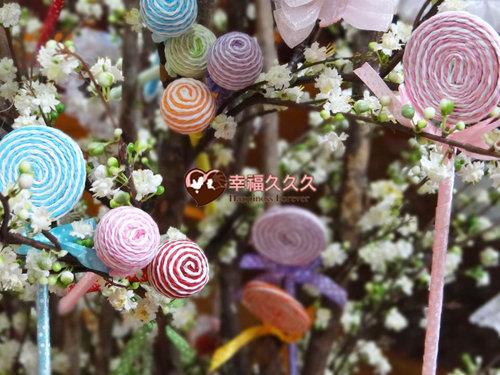 幸福久久久婚禮小物--婚禮小物之糖果造型原子筆01