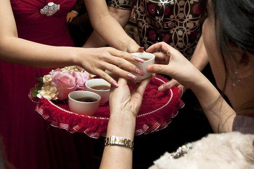 婚禮小物-茶盤