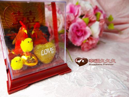 婚禮小物帶路雞