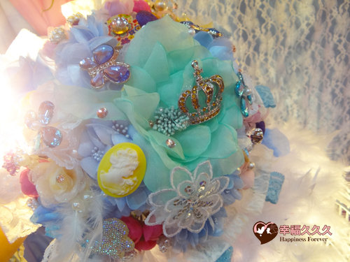 海洋之星珠寶捧花