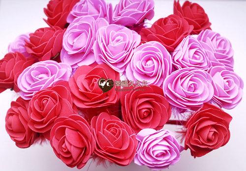 單朵玫瑰原子筆二次進場婚禮小物2.jpg