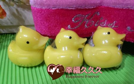 小鴨香皂婚禮小物1