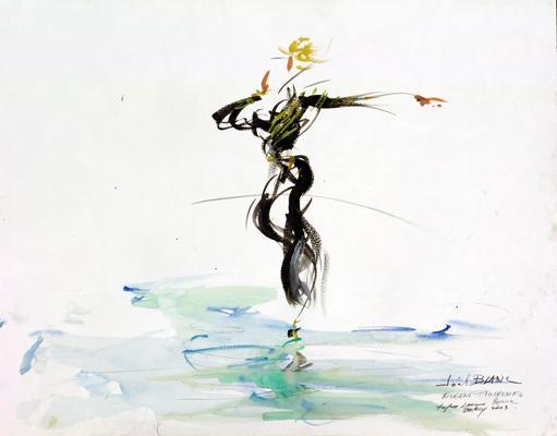 法國知名畫家Joelblanc筆下普