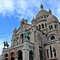 【巴黎。景點】漫遊巴黎北部蒙馬特~聖心堂。