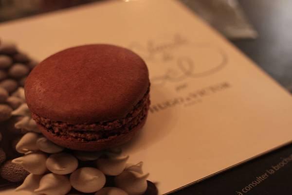 【巴黎。美食】在風格獨特歌劇院星巴克,享受打造珠寶般精品的馬卡
