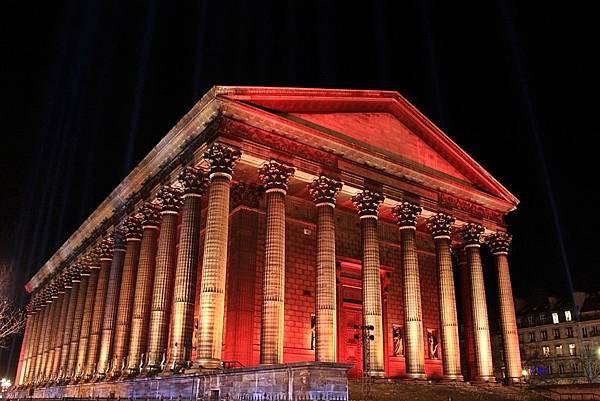 【巴黎。景點】巴黎新古典主義教堂~瑪德蓮(馬德萊娜)教堂。