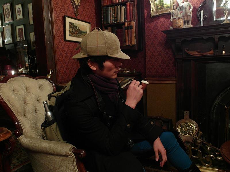 london-Sherlock Holmes- Museum-17docintaipei-福爾摩斯博物館 (1)