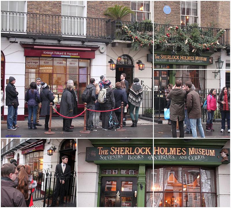 london-Sherlock Holmes- Museum-17docintaipei-福爾摩斯博物館 (5)