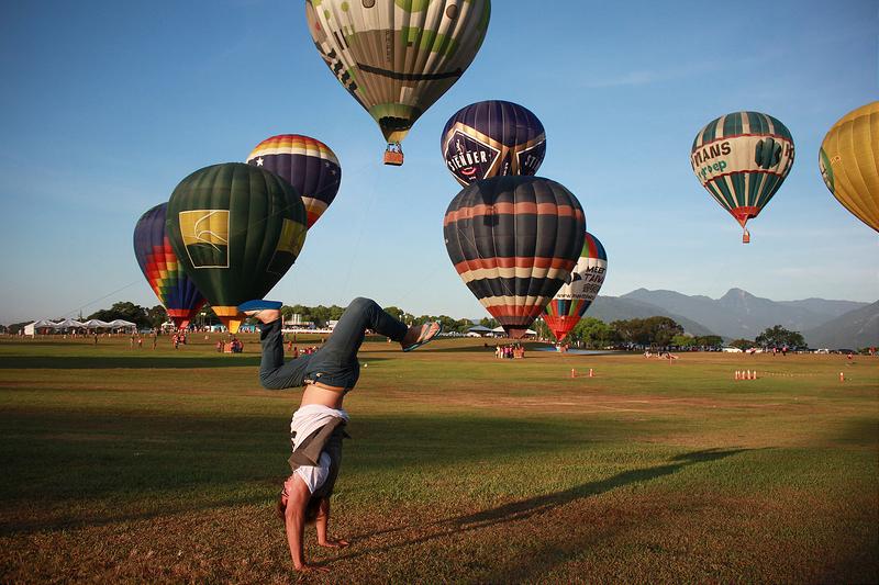 環島沙發旅行-台東-熱氣球節