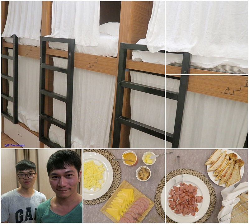 BACKPACKER-Kaohsiung-HOSTEL-七桃公寓-17度C-環島推薦  (1)