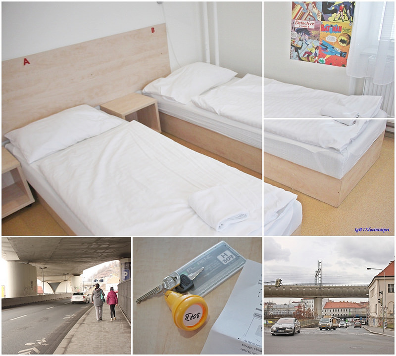 Hostel Florenc-弗洛林克旅館-捷克布拉格住宿-17度c歐洲自助旅行 (2)