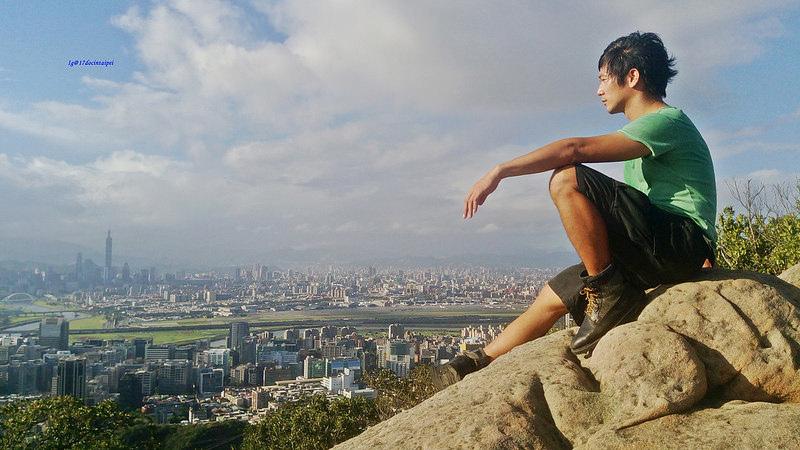 TAIPEI-bush walking-台北郊山健行-內湖金面山剪刀石-17度C隨拍 (2)