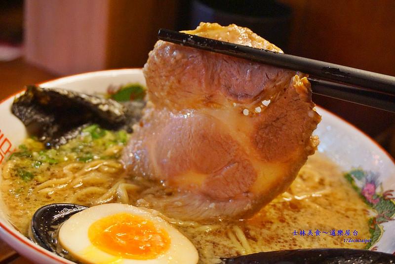 道樂屋台-士林美食-日本人在台灣的手推車拉麵 (18)