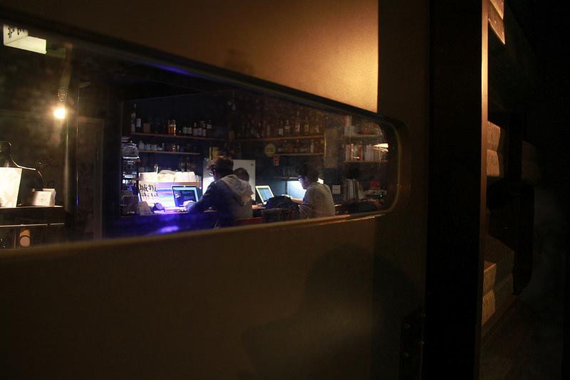 台北。深夜主題。暗角咖啡。17度C台北隨拍 (19)