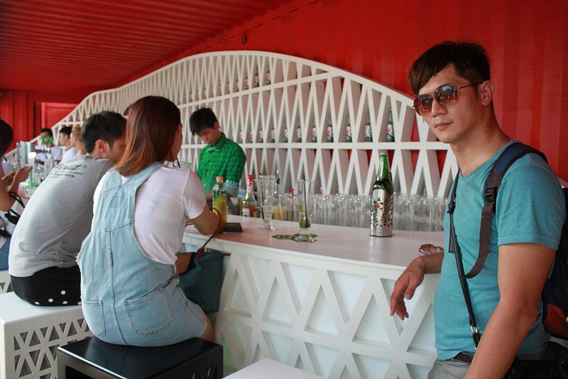 Heineken-海尼根城市星酒吧-17度C台北隨拍-華山1914 (49)