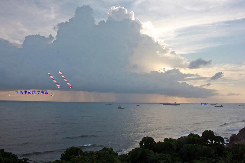 環島-西子灣-夕陽與猴子共舞