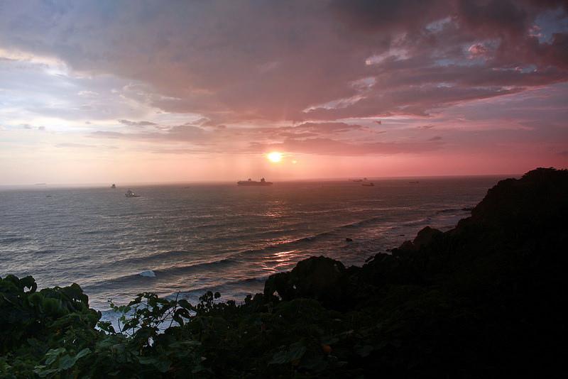 環島-西子灣-夕陽與猴子共舞 (26)