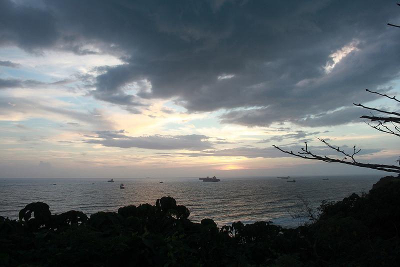 環島-西子灣-夕陽與猴子共舞 (35)