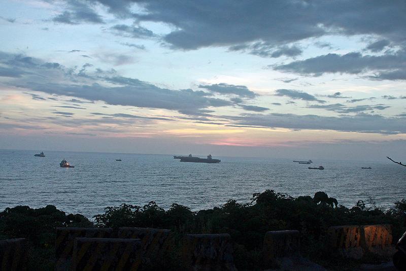 環島-西子灣-夕陽與猴子共舞 (45)