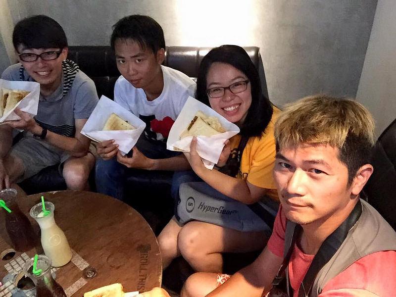 沙發客台灣環島旅行-宜蘭羅東早餐