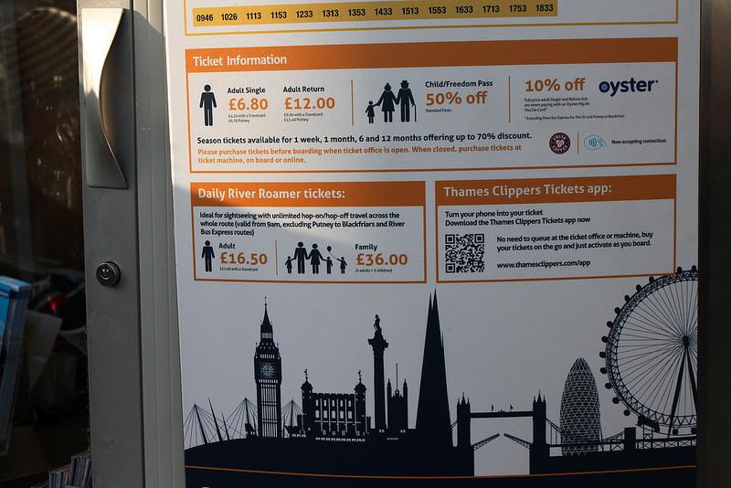 17度C用中文遊london搭渡輪遊泰晤士河-Citycruises攻略 (1)