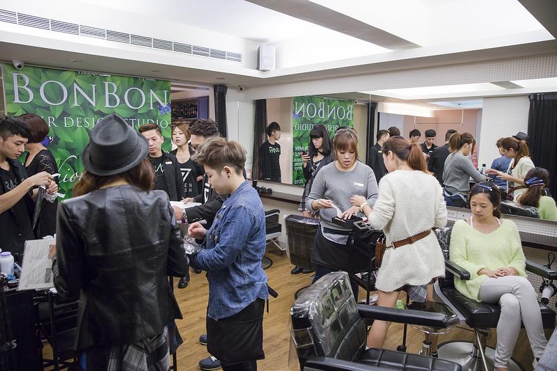 BONBONHAIRX中美嬌兒法國品牌EP染膏2015春夏發表