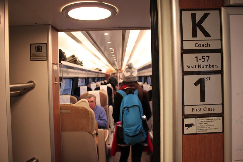 17度C-不會英文搭火車遊英國-EASTCOAST-  (6)