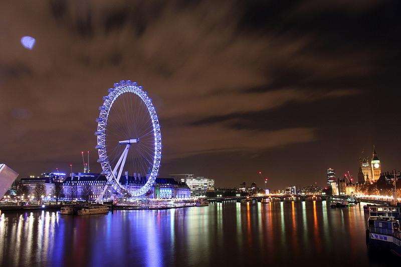 London eye-倫敦眼-大笨鐘-17度C英國隨拍 (2)