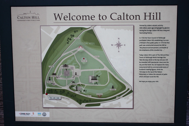 卡爾頓山Calton Hill-17度C愛丁堡旅行 (2)