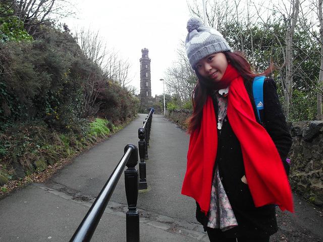 卡爾頓山Calton Hill-17度C愛丁堡旅行 (35)
