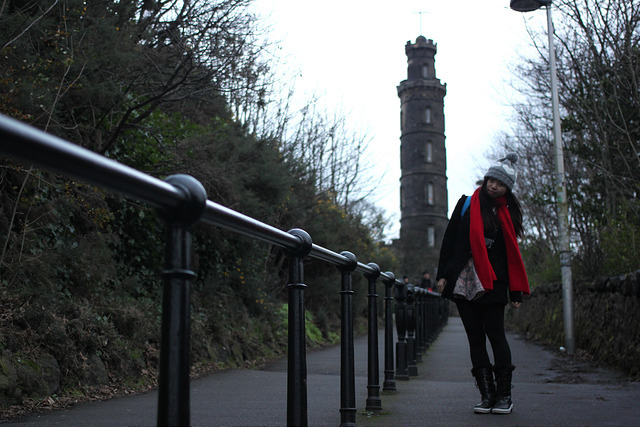 卡爾頓山Calton Hill-17度C愛丁堡旅行 (6)