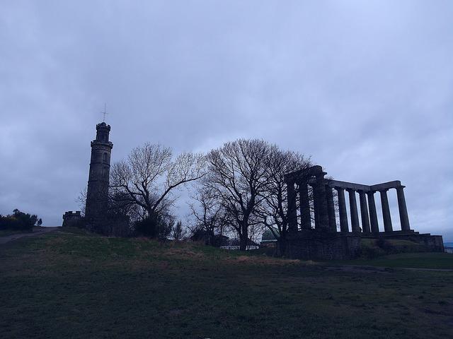 卡爾頓山Calton Hill-17度C愛丁堡旅行 (39)