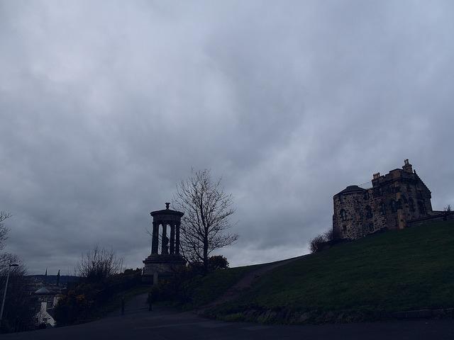 卡爾頓山Calton Hill-17度C愛丁堡旅行 (37)