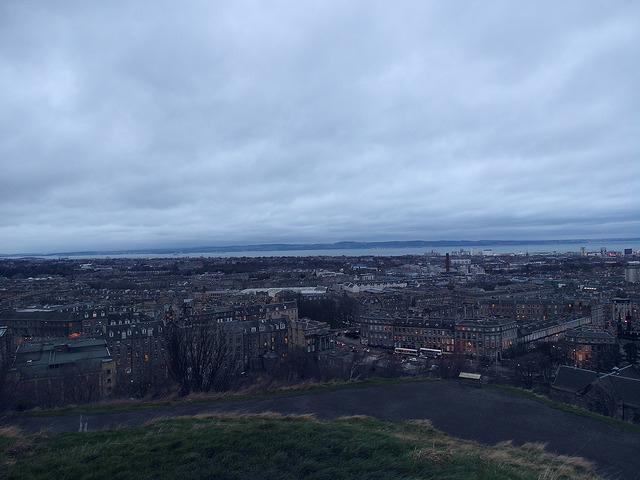 卡爾頓山Calton Hill-17度C愛丁堡旅行 (40)