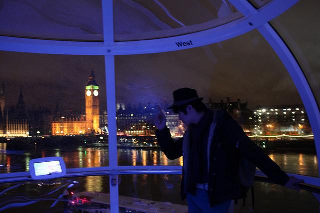 London eye-倫敦眼-大笨鐘-17度C英國隨拍 (61)