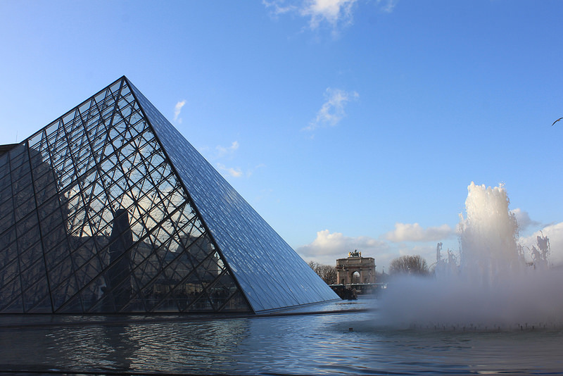 。巴黎。羅浮宮隨拍