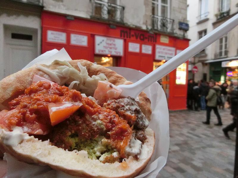 。巴黎。孚日廣場。口袋餅