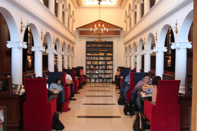 內湖圖書館咖啡 Moooon River Cafe & Books (33)