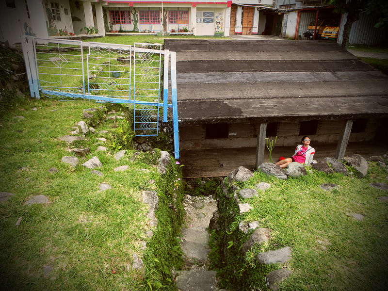 環島蘭嶼。傳統地下屋  (47)