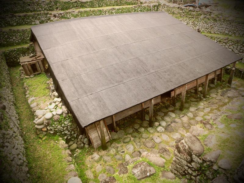 環島蘭嶼。傳統地下屋  (6)