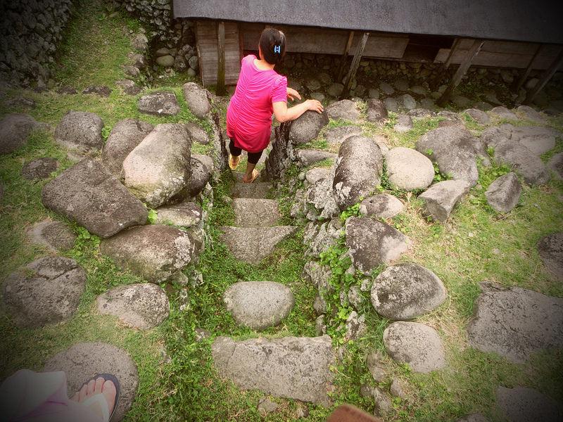 環島蘭嶼。傳統地下屋  (7)